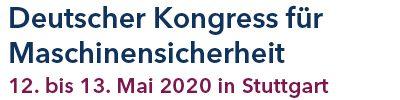 Kongress für Maschinensicherheit 2020